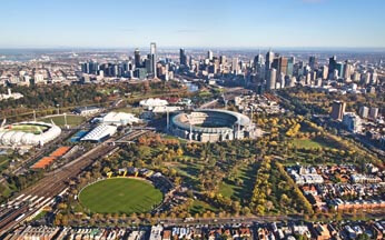 mcg aerial photography