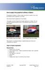Application of Blimp/Airship Graphics (393KB)