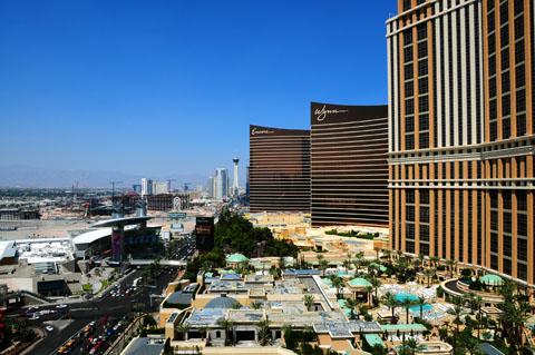 Las Vegas Strip View morning_med