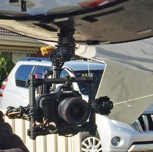 movi gimbal under as7 blimp