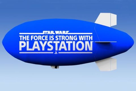Computer Render of Logo on a blimp.  Send us your LOGO we will happily create a model for you