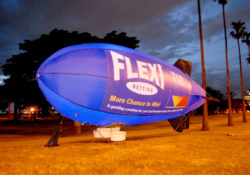 Digital Printed Nylon Skin Blimp