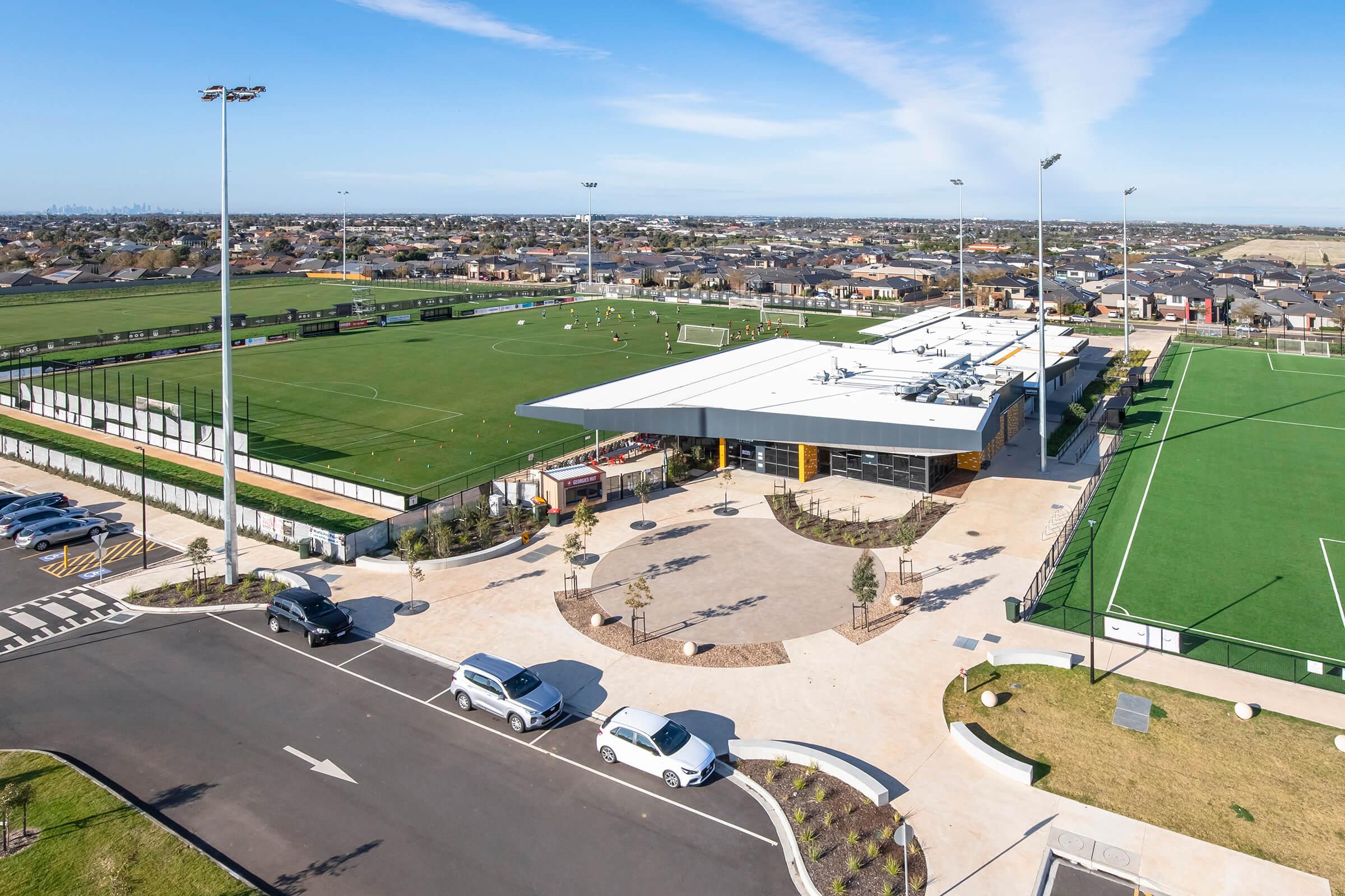 Sporting ground