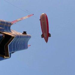 Tethered Airship Photography